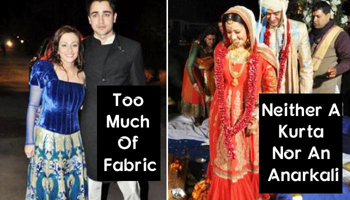 5 Celeb Brides Who Made Big Fashion Blunders On Their Wedding Functions
