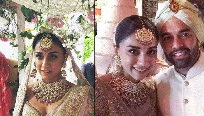Amrita Looks Like A Dream In Her Heavy Embellished Bridal Lehenga For Her Royal Destination Wedding