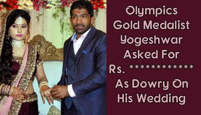 Wrestler Yogeshwar Dutt Married A Politician's Daughter And Asked For This Amount As Dowry
