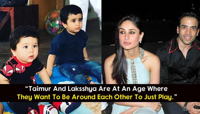 Tusshar Talks About Laksshya And Taimur Becoming Best Friends When They Grow Up
