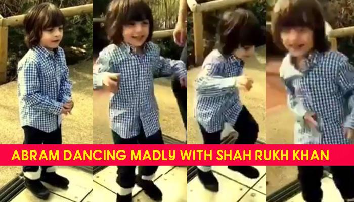AbRam Dancing With Papa Shah Rukh Khan Is The Cutest Thing You Will See On Internet Today