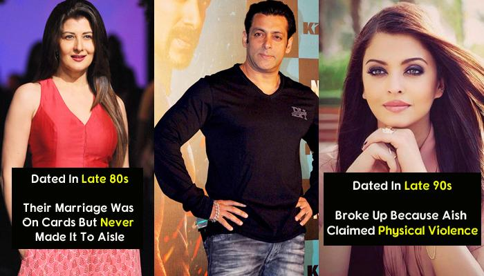 7 Bollywood Divas Who Dated Salman Khan, The Most Eligible Bachelor Of Bollywood