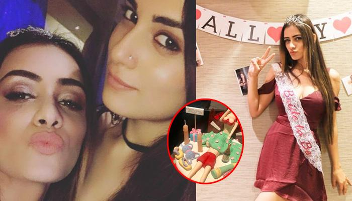 Smriti Khanna's Friends Bought A 'Naughty' Cake On Her Bachelorette And We Want A Ditto Cake