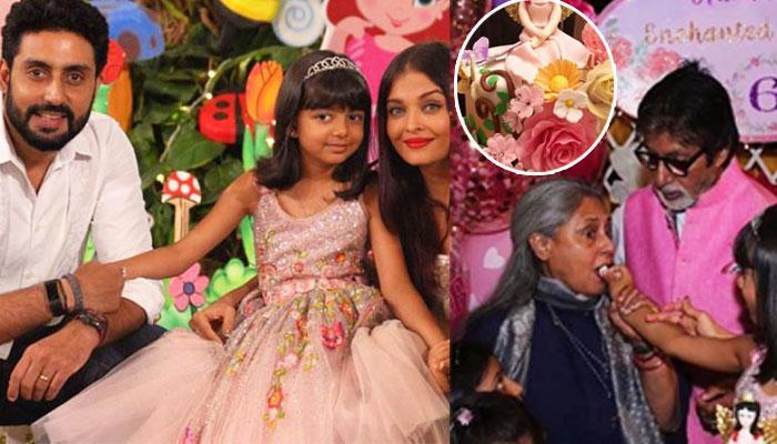 Aaradhya Bachchan's 'Enchanted Medow Themed Cake' Is As Beautiful As The Birthday Girl Herself