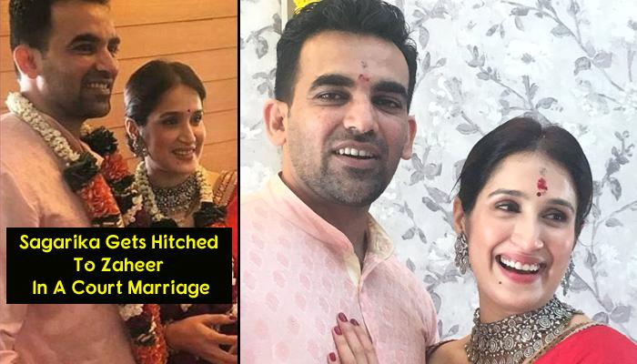 'Chak De! India' Girl Sagarika Gets Married And Wears The Most Unexpected Outfit For Her Special Day