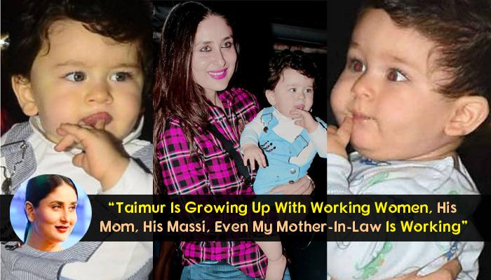 Kareena Doesn't Believe In Stay-At-Home Mom; Taimur's Sea Blue Eyes Is Gift From Kapoor Khandaan