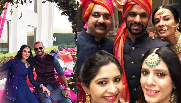 Shikhar Looking After Guests At His Saali's Wedding Is Why Every Girl Needs A Jiju In Her Life