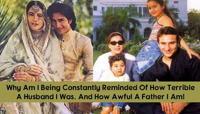 Saif Once Revealed How His Ex-Wife, Amrita Singh Used To Abuse His Mother Sharmila And Sister Soha