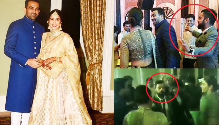 Videos: Lovebirds Virat And Anushka Burn The Dance Floor At Zaheer And Sagarika's Wedding Reception