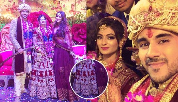 Abhishek Bajaj Gets Married To Akanksha Jindal, Bride's Lehenga Has Unique Embroidery At The Bottom