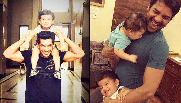 9 TV Actors Who Are Redefining Fatherhood With Their Cute Gestures For Their Kids