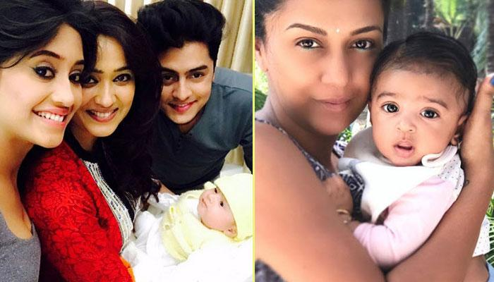 First Pictures Of Television Star Kids That Are Too Cute To Handle