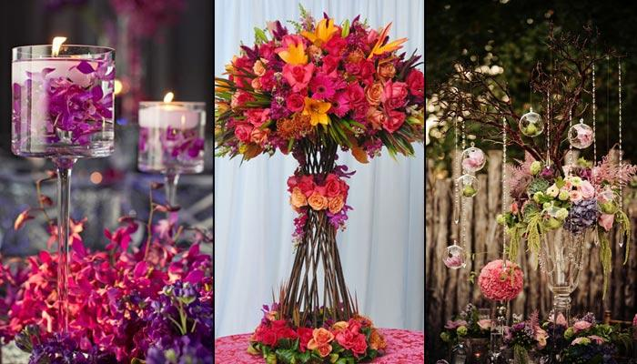 7 Types Of Flowers A Couple Can Choose According To Their Style For Wedding Decor