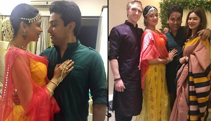 Famous Television Actress Kavita Kaushik And Fiance Ronnit Biswas's Haldi Pictures Are Super-Fun
