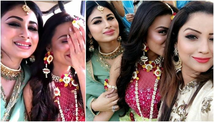 Aashka's Mehendi Ceremony, From Her Necklace To Her Beautiful Red Crop Top, Everything Is Perfect