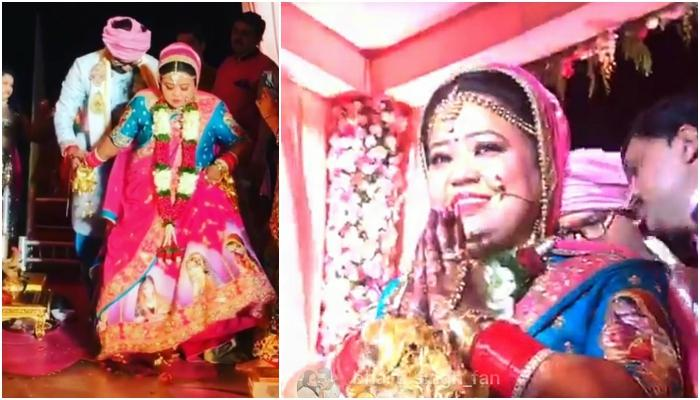 LIVE: Here Are Exclusive Pictures From Bharti And Haarsh's Beach Wedding