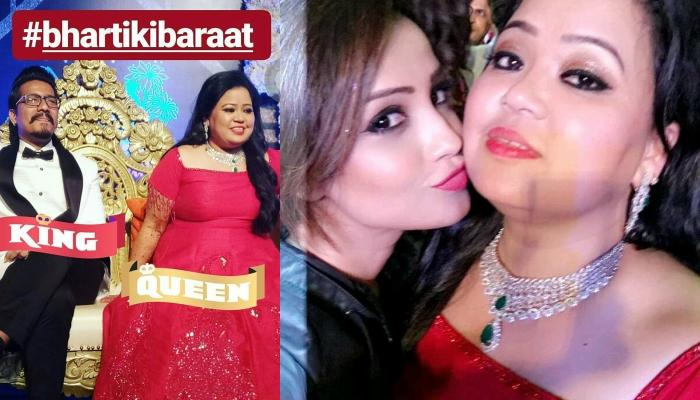 Bharti's Sangeet And Cocktail Updates, Check What She Replied When Krushna Asked About Her Feelings