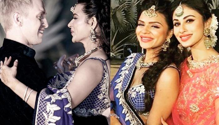 Aashka-Brent 'Sangeet' Ceremony, Couple Dance On 'Kyonki Tum Hi Ho'; Mouni Dance On 'Kajra Re'