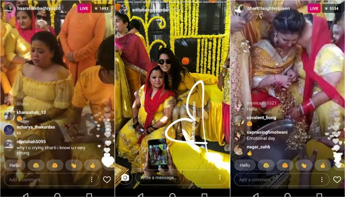 Bharti Cried Her Heart Out On Her Haldi And What Her 'Saasu Maa' Did Next Was Totally Unexpected