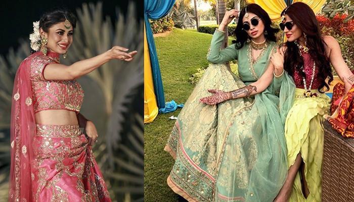 Mouni's Dance On 'Kajra Re' Is Giving Tough Competition To Aishwarya Rai Bachchan