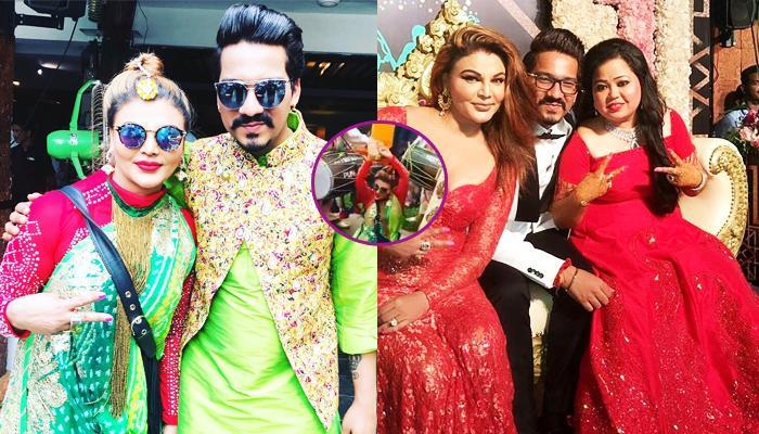 You'll Laugh So Hard Seeing Rakhi's 'Naagin' Dance In Bharti's Wedding, It'll Give You Stomach Ache