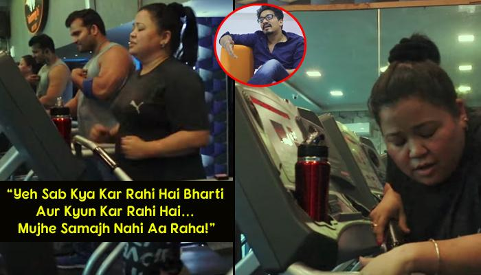 When Bharti Was Sweating Out In Gym To Look Slim On Her Wedding, Haarsh's Reaction Was Unexpected