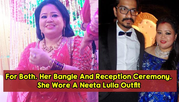 From Pool Party To Reception, Bharti Singh's All Wedding Functions Looks