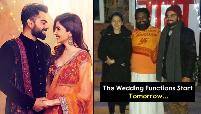 Anushka Sharma And Her Family Fly Out With 'Pandit' To Italy; Are Virat And Anushka Getting Married?