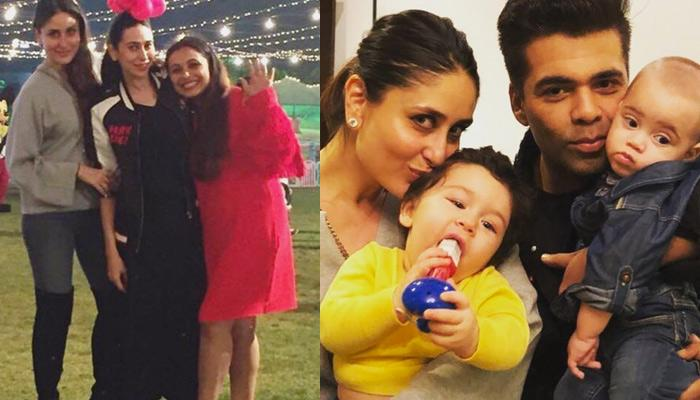 Karan Shares Taimur, Yash And Roohi's Picture At Rani Mukerji's Daughter Adira's Birthday Bash