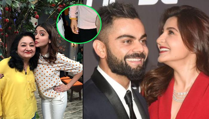 A Close Look At Anushka's Mom, We Realised, Sharmas Are Actually Going To Italy For The Wedding Only