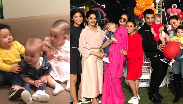 From Johar Twins To Taimur, Toddlers Of Bollywood Show How To Party At Adira's Birthday Bash