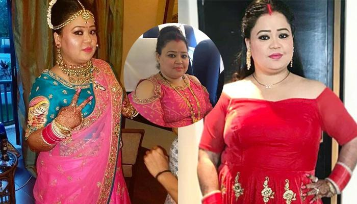 Bharti's First Look As A 'Nayi Bahu', Going To 'Sasural' Wearing 'Sindoor' And 'Mangalsutra'