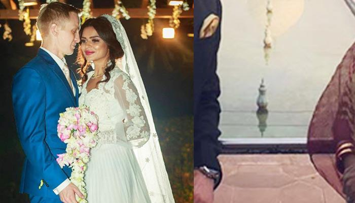 'Nayi Dulhan' Aashka Shares 1st Pic With 'Pati' Brent Post-Wedding In Front Of The Monument Of Love