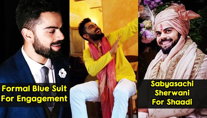 From 'Sagai' To 'Shaadi', Virat Kohli's Pictures Redefine Wedding Day Looks For Every Groom-To-Be