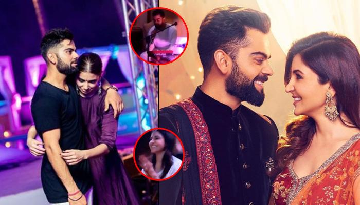 Virat Becomes The 'Mehboob' Of The Year After He Sings For His Bride Anushka
