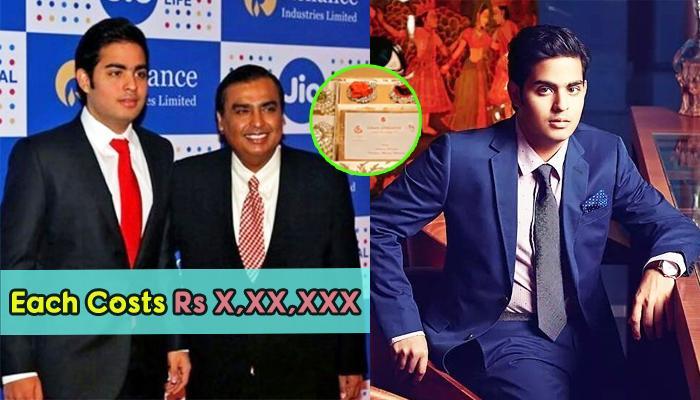 Mukesh Ambani's Eldest Son, Akash Ambani's Gold Wedding Card Going Viral Is FAKE [UPDATED]