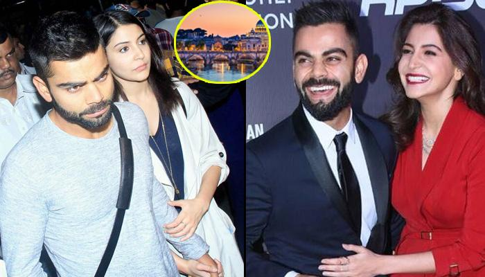 Newly-Wedded Couple Virushka Left For Their Short Honeymoon At This Exotic Location