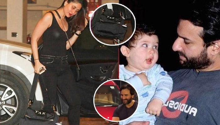 INR 1.3 Crore Jeep And A Royal Personalised Bag Having His Own Initials, Taimur Is A Swagger Baby