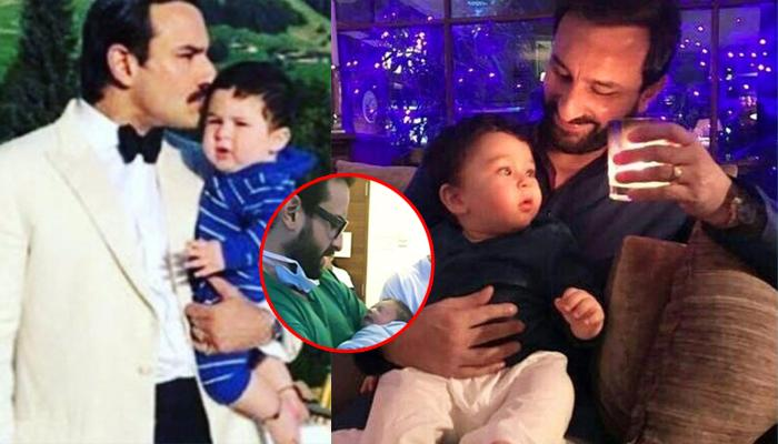 As Taimur Will Soon Turn 1, Here Is An Unseen Picture Of Him With Saif When He Was Just A Day Old