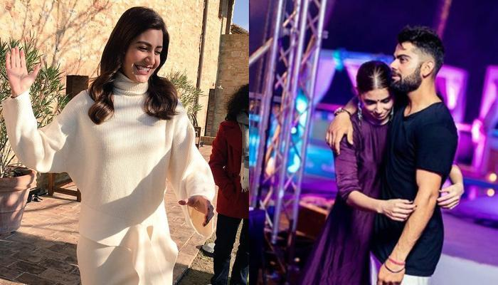 After Virat's Singing Performance, We Are Loving Anushka's Post-Wedding Dance