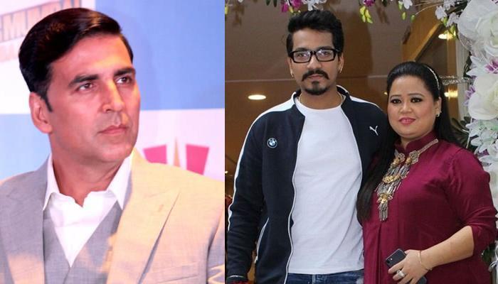 The Newly-Wedded Bride Bharti Singh Postpones Her Honeymoon For Akshay Kumar, Here Is Why