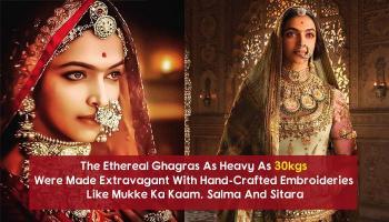 Dear Brides, This Is How You Can Dress Up Like Deepika As 'Rani Padmavati' This Shaadi Season
