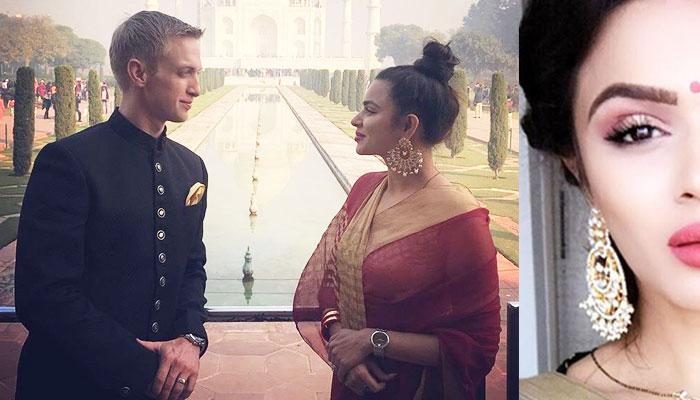 Aashka Is Looking Like A Perfect 'Nayi Dulhan' In Her Sindoor And Mangalsutra Look