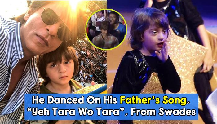 AbRam's Cute Dance At His School Annual Day Made SRK And Suhana Dance To His Steps