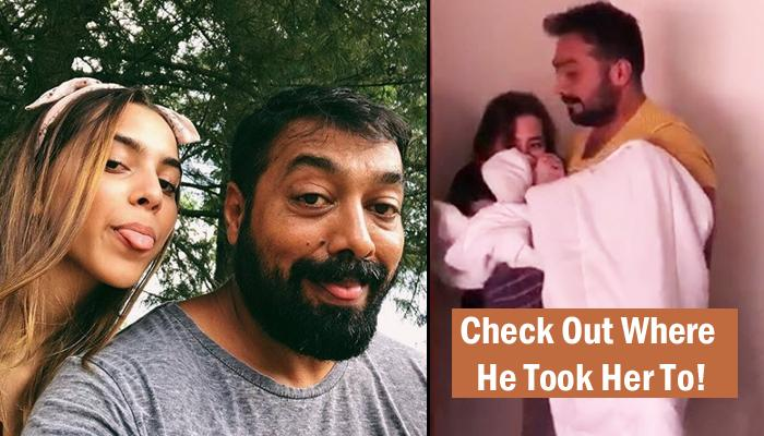 Video Of Anurag Kashyap Carrying His 16-Year-Old Princess In His Arms Is Father-Daughter Goals