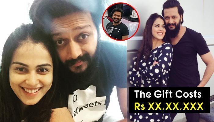 Genelia's Birthday Gift To Riteish Is Every Husband's Dream Come True