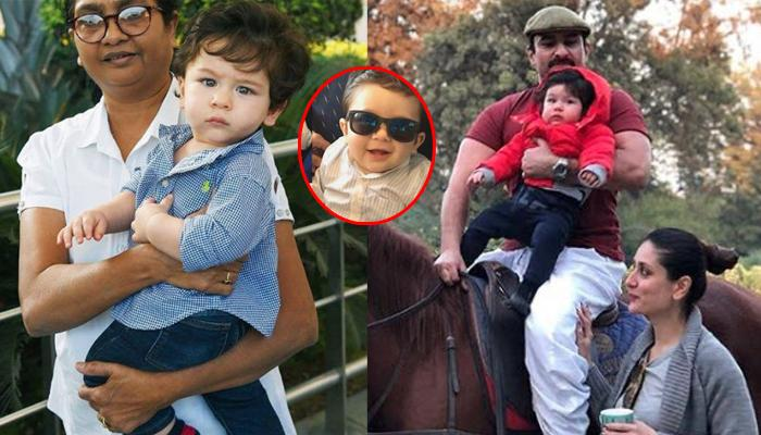 Taimur's 1st Pic From His Birthday Is Here And He Is Looking Like A Hero In 'Kala Chashma'