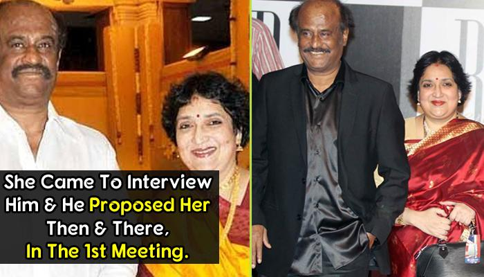 Love By Chance: Love Story Of Superstar Rajnikanth And Wife Latha Rangachari