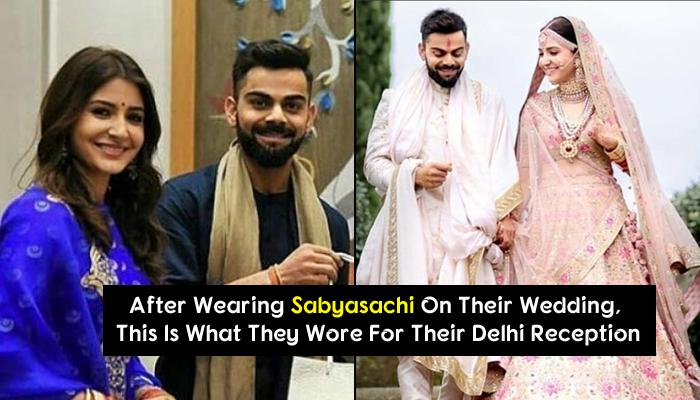 LIVE: First Look Of Virat And Anushka From Their Wedding Reception In Delhi Is Here