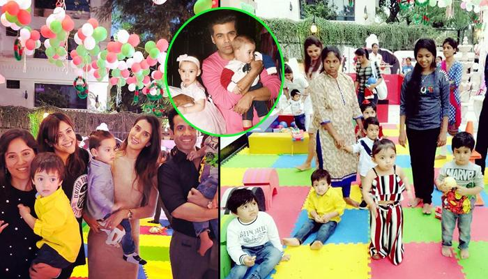 Yash And Roohi's Pics From Tusshar Kapoor's Son, Laksshya's Christmas Party Are Too Adorable To Miss